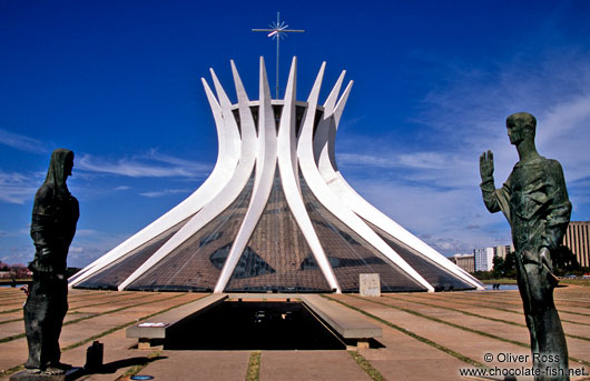 The Catedral Metropolitana in Brasilia