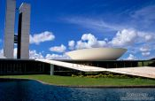 Travel photography:Parliament building in Brasilia, Brazil