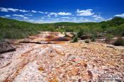 Riverbed near Len��is, Brazil