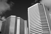 Travel photography:Modern high rises in Montreal, Canada
