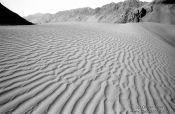 Travel photography:Mountains and Sand Dunes near Diskit (Ladakh), India