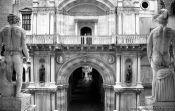 Travel photography:Inside the palace on Piazza San Marco, Italy