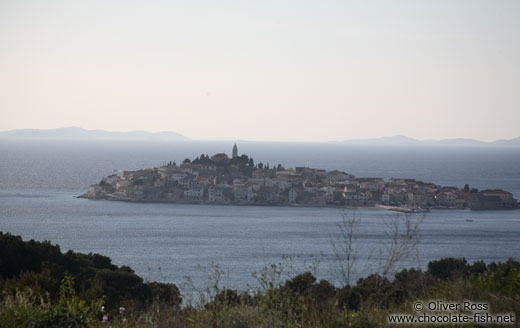 Panoramic view of Primosten