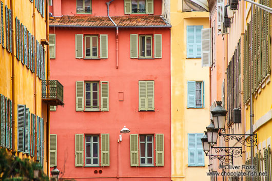 House in the old town in Nice