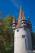 Rapunzel tower in Lindau , Germany