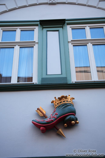 Facade detail in Erfurt