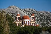 Travel photography:Church near Imbros, Grece