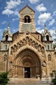 Travel photography:The J�k chapel in Budapest�s Vajdahunyad castle, Hungary
