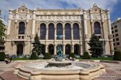 Travel photography:Vigad� theatre in Budapest, Hungary