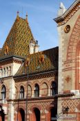 Travel photography:The Budapest market hall, Hungary