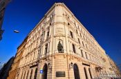 Travel photography:Budapest riverside facades , Hungary