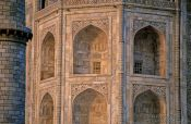 Travel photography:Taj Mahal facade detail, India