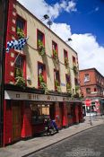 Travel photography:The Auld Dubliner pub in Dublin`s Temple Bar district, Ireland