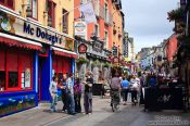Travel photography:The main street in Galway, Ireland