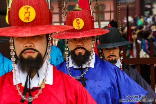 Gyeongbokgung palace guards