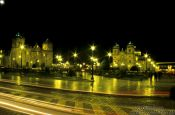 Travel photography:Cusco by night, Peru