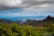 Travel photography:View over Anaga Rural Park on Tenerife, Spain