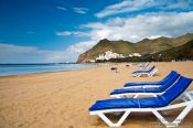 Travel photography:Playa de las Teresitas on Tenerife, Spain