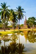 Travel photography:Stupas at the Sukhothai temple complex, Thailand