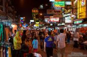 Travel photography:Khao San Road , Thailand