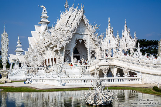 The Silver Temple in Chiang Rai
