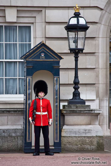 England buckingham palace guards