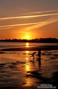 Travel photography:Sunset over Highcliff Beach, United Kingdom