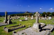 Travel photography:Mt. Saint Michael cemetery in Cornwall, United Kingdom England