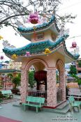 Travel photography:Small pagoda in Chau Doc , Vietnam