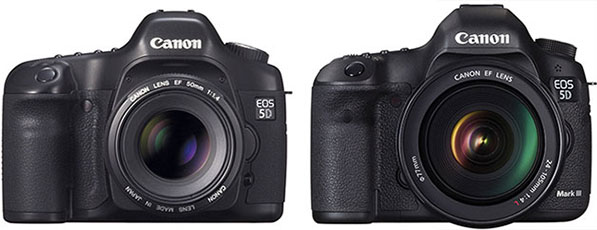 Canon EOS 5D and 5D Mark III