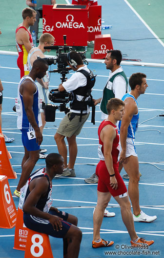 Start of the 100m Men´s Semi-Final