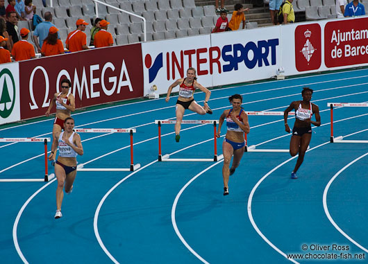 The Women´s Semi-final of 400m hurdles