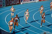 Travel photography:The second 400m Women´s Semi-final, Spain