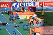 Travel photography:Nicklas Wiberg over 2.04m in the Decathlon High Jump, Spain
