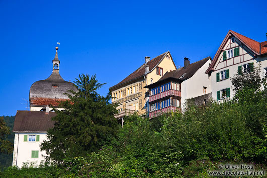 Houses in the Upper town in Bregenz