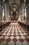 Travel photography:Inside St. Michael´s church in Vienna, Austria