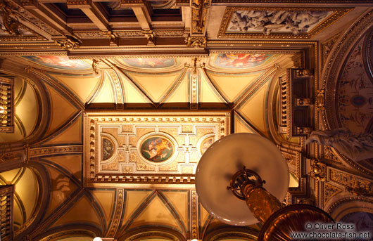 Ceiling inside the Vienna State Opera