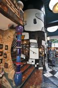 Travel photography:Vienna Hundertwasser village , Austria