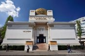 Travel photography:Vienna Secession , Austria