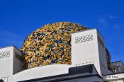 Travel photography:Vienna Secession roof , Austria