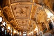Travel photography:Foyer of the Vienna State Opera , Austria