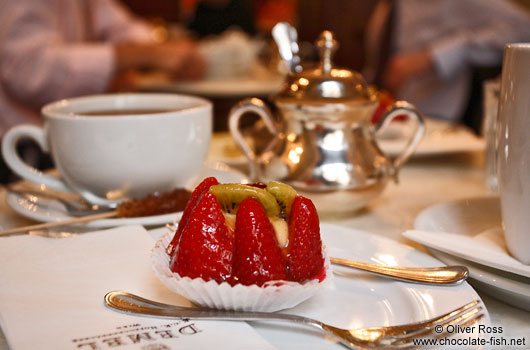 Café house culture at the Demel in Vienna