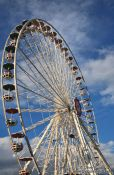 Travel photography:New ferris wheel at Vienna´s Prater, Austria