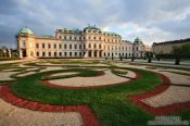 Travel photography:The lower Belvedere, Austria