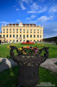 Travel photography:Schönbrunn palace gardens, Austria