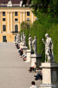 Travel photography:Schönbrunn palace park, Austria