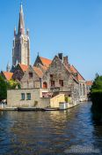 Travel photography:Church in Bruges, Belgium