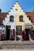 Travel photography:House in Bruges, Belgium