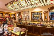 Travel photography:Chocolatier in the Saint Hubertus gallery in Brussels, Belgium