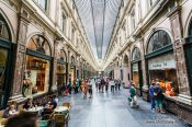 Travel photography:Saint Hubertus gallery in Brussels, Belgium